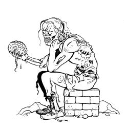 Thinking zombie